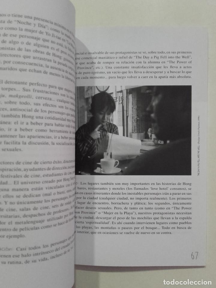 Libros de segunda mano: EL CINE DE HONG SANG-SOO - FESTIVAL INTERNACIONAL DE CINE DE GIJÓN - 2013 - Foto 4 - 269695533