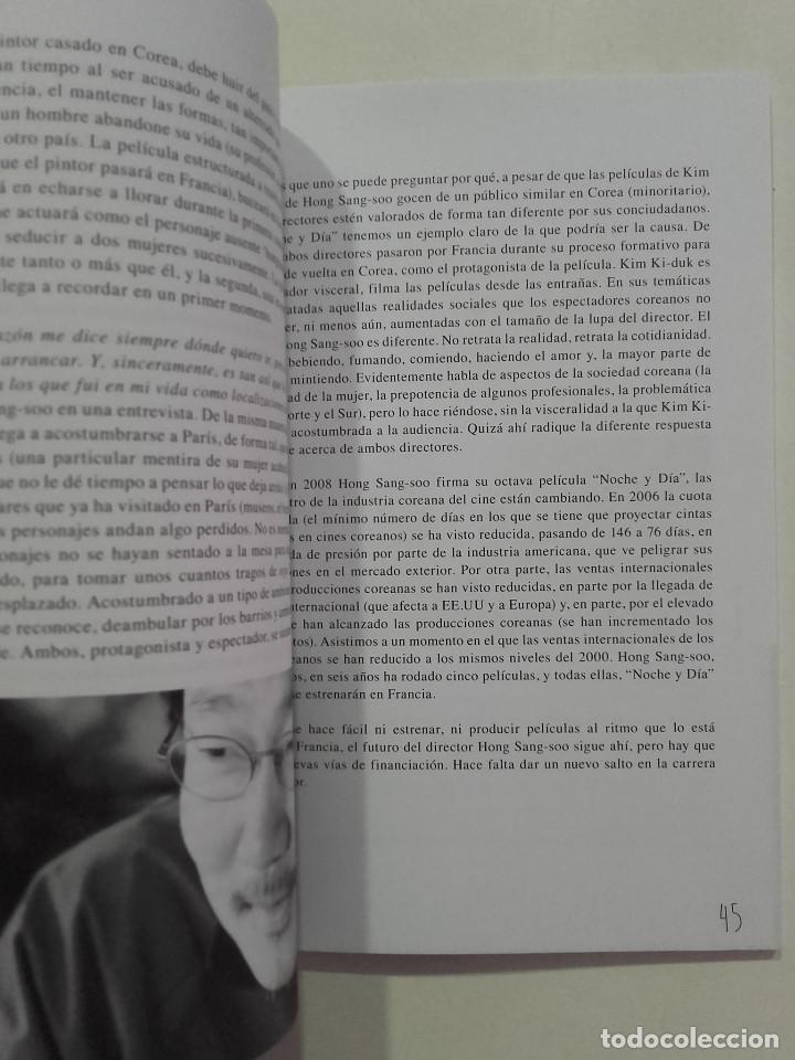 Libros de segunda mano: EL CINE DE HONG SANG-SOO - FESTIVAL INTERNACIONAL DE CINE DE GIJÓN - 2013 - Foto 6 - 269695533