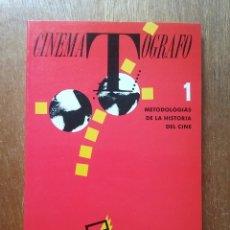 Libros de segunda mano: CINEMATOGRAFO, METODOLOGIAS DE LA HISTORIA DEL CINE, FESTIVAL INTERNACIONAL DE CINE DE GIJON, 1989. Lote 270408263