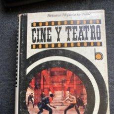 Libros de segunda mano: CINE Y TEATRO. Lote 273424903