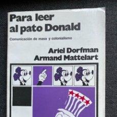 Libros de segunda mano: PARA LEER AL PATO DONALD. Lote 273426278