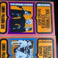 Libros de segunda mano: HOLLYWOOD STORIES (2 TOMOS). Lote 273445553