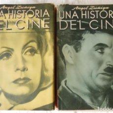 Libros de segunda mano: UNA HISTORIA DEL CINE 2 TOMOS. 1948 ANGEL ZUÑIGA. Lote 274607873