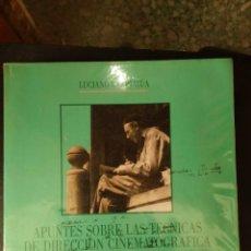 Libri di seconda mano: APUNTE SOBRE LAS TÉCNICAS DE DIRECCIÓN CINEMATOGRÁFICA DE F.W. MURNAU - LUCIANO BERRIATÚA. Lote 275244113