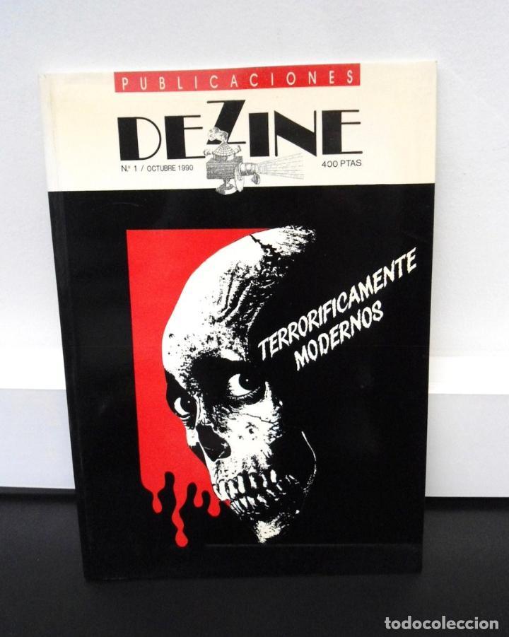 DEZINE PUBLICACIONES Nº 1 - OCTUBRE 1990 - TERRORIFICAMENTE MUERTOS - EXCELENTE ESTADO (Libros de Segunda Mano - Bellas artes, ocio y coleccionismo - Cine)