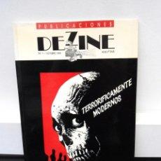Libros de segunda mano: DEZINE PUBLICACIONES Nº 1 - OCTUBRE 1990 - TERRORIFICAMENTE MUERTOS - EXCELENTE ESTADO. Lote 276749933