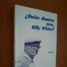 Libros de segunda mano: ¿QUIÉN DIANTRES ERES, BILLY WILDER?. TOM WOOD. BUEN ESTADO CON EX-LIBRIS ANTERIOR DUEÑO. Lote 277145193