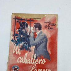 Libros de segunda mano: UN CABALLERO FAMOSO. AMPARITO RIVELLE & ALFREDO MAYO. ED. BISTAGNE. CIFESA. PAGS: 70. Lote 277565313