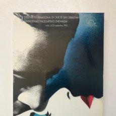 Libros de segunda mano: 41 FESTIVAL INTERNACIONAL DE CINE SAN SEBASTIÁN 1993 REF I. Lote 278208688
