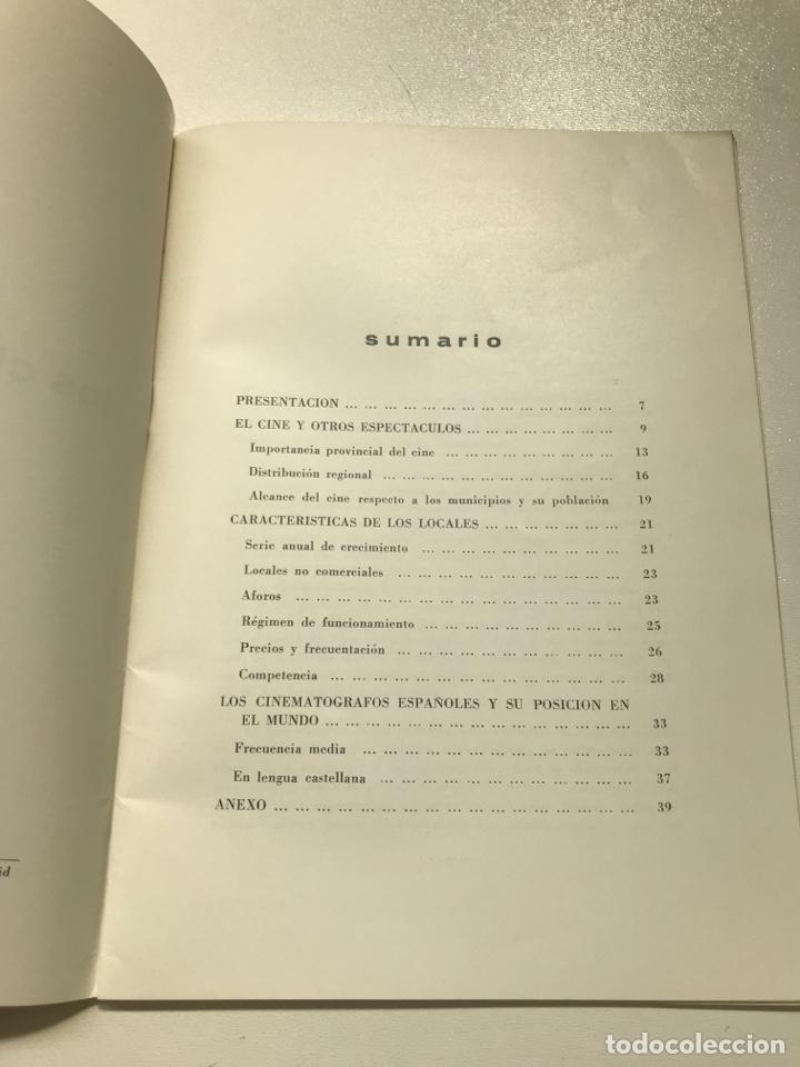 Libros de segunda mano: Los cines en España.Sindicato nacional del espectáculo Ref I - Foto 3 - 278209263