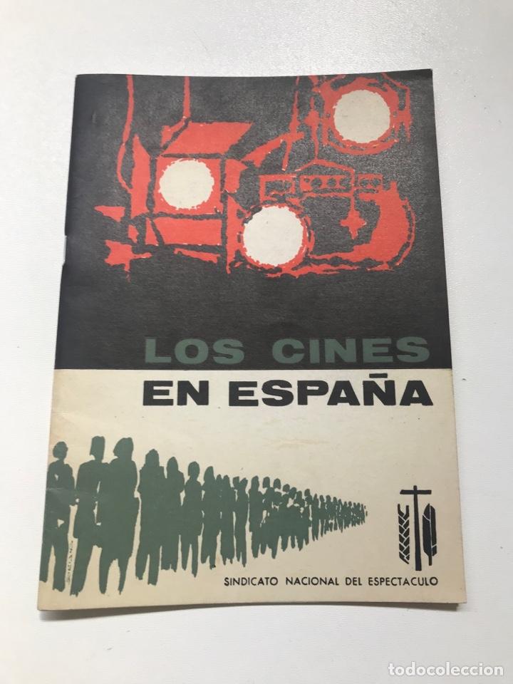 LOS CINES EN ESPAÑA.SINDICATO NACIONAL DEL ESPECTÁCULO REF I (Libros de Segunda Mano - Bellas artes, ocio y coleccionismo - Cine)