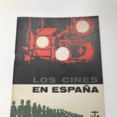 Libros de segunda mano: LOS CINES EN ESPAÑA.SINDICATO NACIONAL DEL ESPECTÁCULO REF I. Lote 278209263