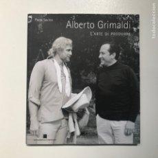 Libros de segunda mano: ALBERTO GRIMALDI L'ARTE DE PRODUCE PADO SAVINO REF I. Lote 278210178