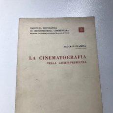 Libros de segunda mano: LA CINEMATOGRAFIA NELLA GIURISPRUDENCIA 1966-REF I. Lote 278210578