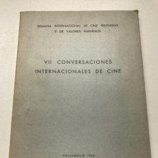 Libros de segunda mano: INFORME DEL PRESIDENTE DE CINESPAÑA CARTA FIRMADA POR JOSÉ MARÍA GARCÍA ESCUDERO REF K. Lote 279436738