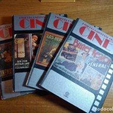 Libros de segunda mano: HISTORIA UNIVERSAL DEL CINE VOLUMEN 1, 2, 3 Y 4. Lote 280325543