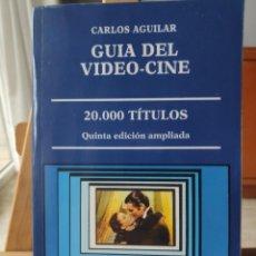 Libros de segunda mano: GUÍA DEL VIDEO-CINE, 5º EDICIÓN AMPLIADA, 20.000 TÍTULOS. Lote 282057478