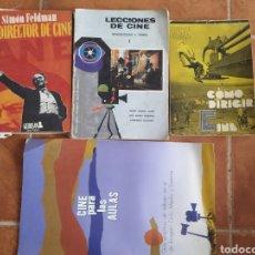 Libros de segunda mano: LOTE DE LIBROS DE CINE AÑOS 60. Lote 283938753