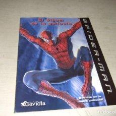 Libros de segunda mano: SPIDERMAN EL ALBUM DE LA PELICULA - EDICIONES GAVIOTA - AÑO 2002. Lote 288489243