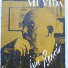Livres d'occasion: MI VIDA, MIS FILMS. JEAN RENOIR. (CINE).. Lote 288722688