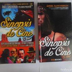Libros de segunda mano: SINOPSIS DE CINE EL LIBRO, POEBOOKS ÁNGEL SANCHIDRIÁN , PRIMERA EDICIÓN JULIO 2014. Lote 289881903