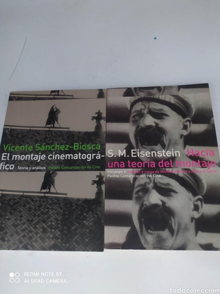 EL MONTAJE CINEMATOGRÁFICO. VICENTE SÁNCHEZ-BIOSCA Y HACÍA UNA TEORÍA DEL MONTAJE .S.M.EISENSTEIN (Libros de Segunda Mano - Bellas artes, ocio y coleccionismo - Cine)