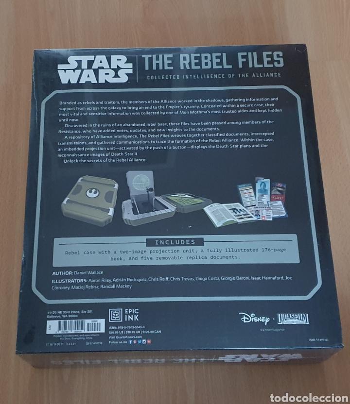 Libros de segunda mano: Star wars: The Rebels files deluxe edition - Foto 4 - 290109898