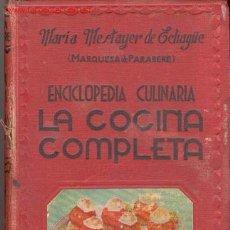 Libros de segunda mano: 1945.MESTAYER DE ECHAGUE....COCINA. Lote 24977565