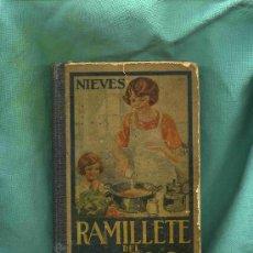 Gebrauchte Bücher - RAMILLETE DEL AMA DE CASA, LIBRO DE COCINA AÑO 1935, CON 360 PAG. DE 20X13 CTS. - 4734461