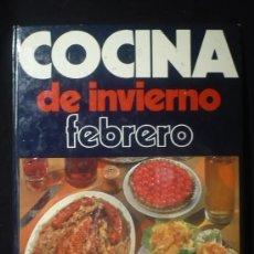Libros de segunda mano: COCINA DE INVIERNO. FEBRERO. ED. PENINSULAR. 1975,100 PAGINAS.. Lote 19628596