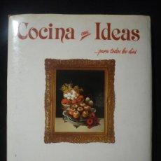 Libros de segunda mano: COCINA CON IDEAS, PLATOS FRIOS. ROSARIO DE LA IGLESIA Y FERNANDO RAMAJO. ED. MONTENA . 60 PAG.. Lote 19628594