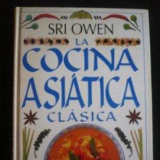 Libros de segunda mano: LA COCINA ASIATICA, SRI OWEN. 160 PAG. 1999.. Lote 19628595