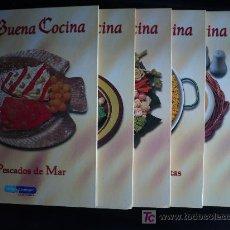 Libros de segunda mano: LA BUENA COCINA. 6 TOMOS.1999.ED.RUEDA. CLINICA SOTOMAYOR. VER INDICE. 64 PAG.TOMO.. Lote 27087946
