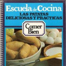 Libros de segunda mano: RECETAS DE COCINA. LAS PATATAS. DELICIOSAS Y PRÁCTICAS. Lote 26168059