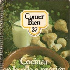 Libros de segunda mano: RECETAS DE COCINA. COCINAR EN LA OLLA A PRESIÓN . Lote 26271644