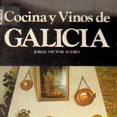 Livros em segunda mão: COCINA Y VINOS DE GALICIA (C-84). Lote 117118654