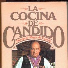 Libros de segunda mano: LA COCINA DE CANDIDO MESONERO MAYOR DE CASTILLA . Lote 9973980
