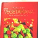 Libros de segunda mano: COCINA VEGETARIANA PARA HOY. MAS DE 100 IRRESISTIBLES RECETAS, PARRAGON BOOKS, UK, C/FOTOS 2007.. Lote 165198465