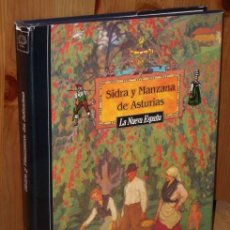Libros de segunda mano: SIDRA Y MANZANA DE ASTURIAS POR JOSÉ ANTONIO FIDALGO SÁNCHEZ DE PRENSA ASTURIANA EN OVIEDO. Lote 23896595