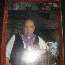 Libros de segunda mano: 1973.MENU DE COMIDA DE MESON CANDIDO DEDICADO Y PRECIOS SEGOVIA. Lote 26246932