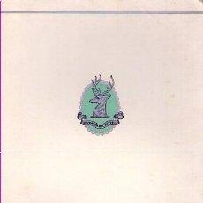 Libros de segunda mano: CARTA MENU HYDE PARK HOTEL / 8 MAYO 1967. Lote 21816876