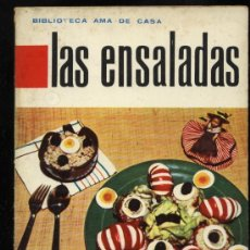 LAS ENSALADAS BIBLIOTECA MOLINO AMA DE CASA 1962