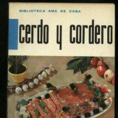 CERDO Y CORDERO BIBLIOTECA MOLINO AMA DE CASA 1963