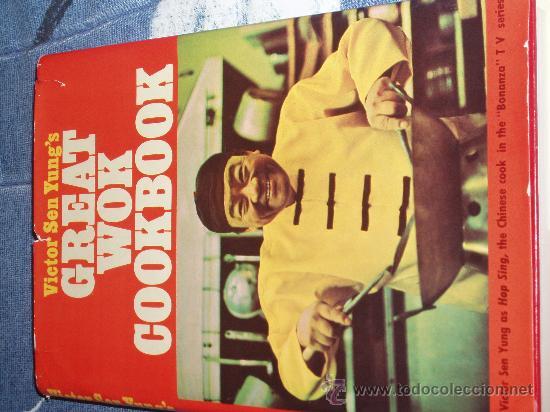 BONANZA. LIBRO DE VICTOR SEN YUNG (HOP SING, EL COCINERO CHINO DE LA PONDEROSA). CON AUTOGRAFO. (Libros de Segunda Mano - Cocina y Gastronomía)
