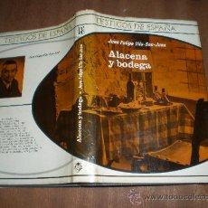 Libros de segunda mano: JUAN FELIPE VILA SAN JUAN ALACENA Y BODEGA PLAZA JANES BARCELONA 1971 TESTIGOS DE ESPAÑA. Lote 20936076