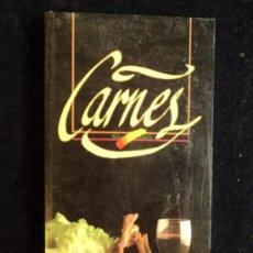 Libros de segunda mano: CARNES. GIL DE ANTUÑANO Y MATIAS LLER A. MINISTERIO AGRAICULTURA. 1992 140 PAG. Lote 21693999