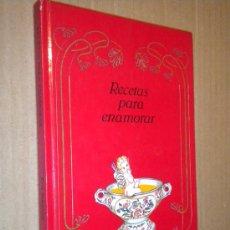 Libros de segunda mano: RECETAS PARA ENAMORAR / RITA SCHNITZER , 1990. Lote 21868274
