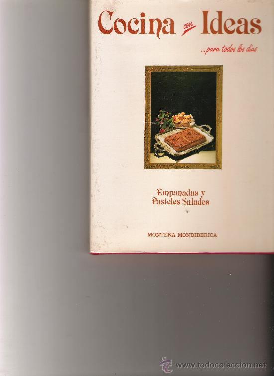 cocina con ideas para todos los dias - empanada - Comprar Libros de ...