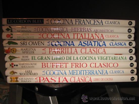 Los Mejores Libros De Cocina | Las Mejores Cocinas Del Mundo 9 Tomos Comprar Libros De Cocina Y