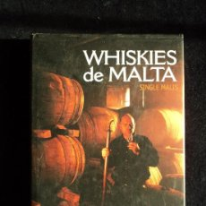 Libros de segunda mano: WHISKIES DE MALTA. RAMON MUÑOZ TORRENT. ED. IDEA. 190 PAG. Lote 21956526